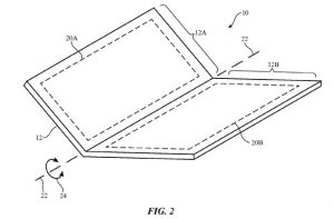 Apple patents fold able digital display