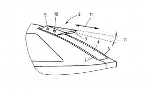 Audi Patents a Sliding Wing to Improve Aerodynamics