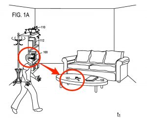 MicroSoft Patent Augmented Reality